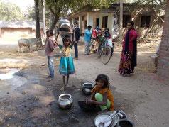 ラフールナガール村の子供達3