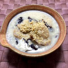 きくらげの豆乳スープ