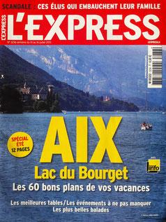 Au bonheur des pierres recommandé par le magasine l'Express en juillet 2013