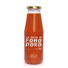 Salsa de tomate BIO en bote de 250ml (Burgio-Sicilia) 6,50€
