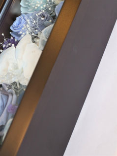 プリザーブドフラワー,時計,フレーム,祝電,結婚式,電報,ギフト,両親贈呈用