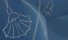 Detailansicht Gravur Linsenstabrahmen