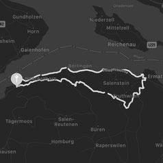 Wegbeschreibung zum Thurgauer Fabelweg am Bodensee in der Ostschweiz.