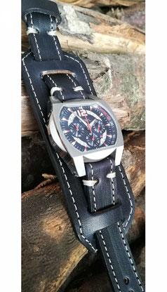 cinturino in cuoio per orologio