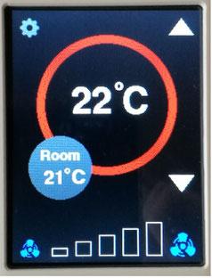 ESP32 ESP8266 Nodemcu touch ILI9341 thermostat modbus