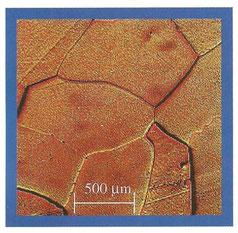 Microestructura de MgO electrofundido
