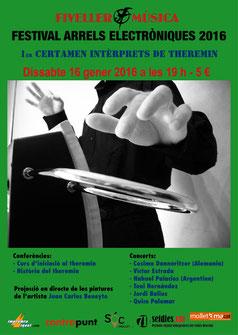 Primer Certamen de intérpretes de theremin