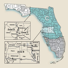 Florida's hunting zones - Florida Fish and Wildlife Commission