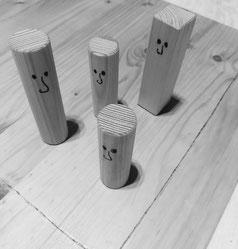 Brettspiel als Symbol einer Familie