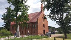 Rominten, Kirche renoviert, RUS