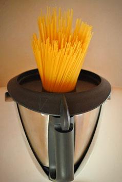 Spaghetti kochen im Thermomix