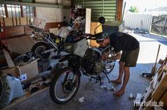 Neuseeland - Motorrad - Reise - Großer Motorrad Service