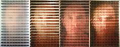 Portrait dynamique, objet photographique, 2011