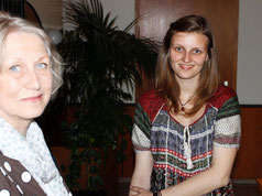 B. Otto sprach mit Elke v. Hühnefeld in unserer IG 2015