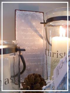 Weihnachtsdeko von Ib Laursen mit Naturmaterialien - zu finden auf dem Adventszauber in der Sternschnuppe home & garden in Eichelhardt