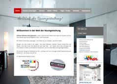 Bild Ansicht www.dousa-spanndecken.de zur Verlinkung