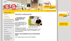 Bild Website www.kuechen-geipel.de