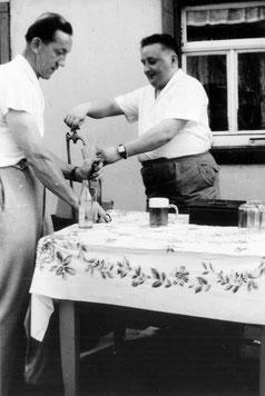 Bild.Teichler Stolzenhain Sommerfest 1961 Wünschendorf