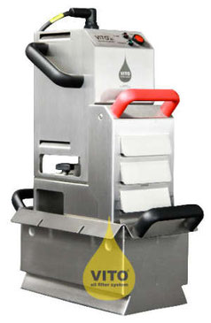 Frittierölfilter für die Gastronomieküche