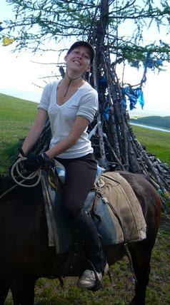 Journée à cheval au Khovsgol