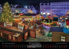 Schillers Weihnachten, Adventsmarkt in Rudolstadt