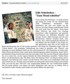 Melodiva Frauenmusikbüro Frankfurt 2015