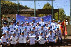 優勝-根上学童野球クラブ