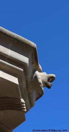 Löwenfigur im Park Güell