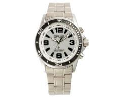 GRUSボイスソーラー電波腕時計 シルバー×シルバー GRS004-01