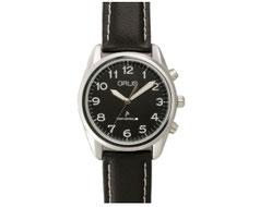 GRUSボイス電波腕時計 ブラック×ブラック GRS003-03