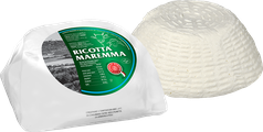 ricotta maremma mixed with cream produced with milk from cow and sheep fresh light italian tuscan cheese tuscany italy  paper wrapped and opened 1500g