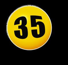 Lottozahl 35