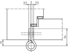 Paumellenband SIMONS VN2828/100