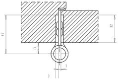 Paumellenband GLUTZ STN16146