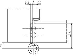 Paumellenband SIMONS VN2929/100
