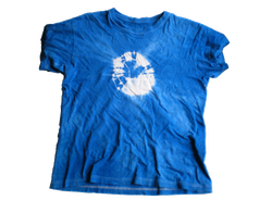 藍染専科でTシャツを染めてみました。