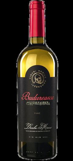 Budureasca Premium FUME 2019 (Chardonnay 33%, Sauvignon Blanc 34%, Grauer Burgunder (Grauburgunder) 33%)