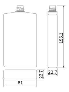 メール便ネコポス対応容器 Type03