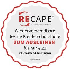 mueden.de, Verpackung, Bild von ReCape Siegel