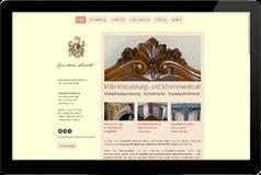 Webseite Möbelrestaurator Christian Schulte Riem
