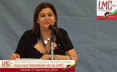 MINA DABAN Conférence LMC France Patients experts regards croisés 27 Septembre 2014 TIMONE MARSEILLE LEUCEMIE MYELOIDE CHRONIQUE JOURNEE MONDIALE WORLD CML DAY