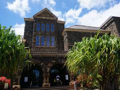 ハワイ オアフ島 ビショップミュージアムハワイアンホール