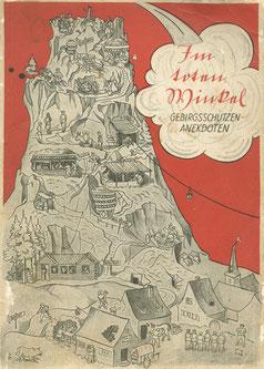 Buchcover der Erinnerungsschrift aus dem Jahr 1935. Sammlung Isonzofront.de