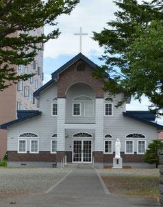 カトリック千歳教会 交通アクセス hokkaido catholic church chitose