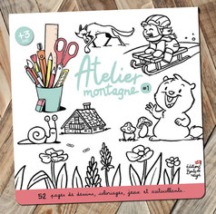 album d'activités, dessins, jeux