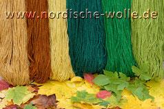 Gutschein Seehausen Murnau Wolle Herbstfarben Stricken Schafwolle