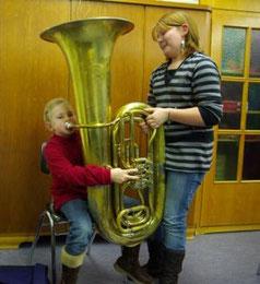 Bild Blaskapelle Meeder - Tuba Test