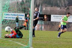 Drei der sechs SVS-Tore erzielte Maximilian Stangl