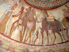 Thrakische Tempel und thrakische Grabstätte in Bulgarien - viele Hintergrundsinformationen findest Du in unserem Reiseheft