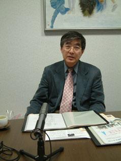 FMながおか社長 脇屋雄介さん